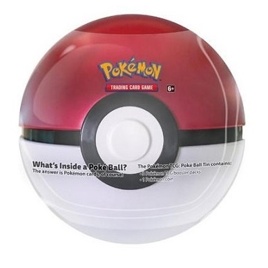 Tin PokeBall - Pokemon kort